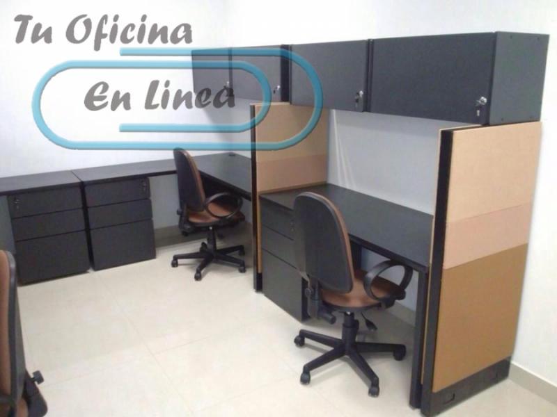 Fabricacion de muebles de oficina economicos monterrey for Cubiculos de oficina