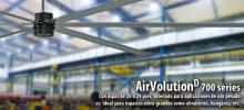 AirVolutionD en planta industrial