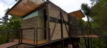 Construcción ecológica con estructura metálica