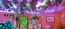 decoración con globos, decoraciones globos