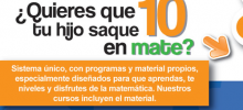 Clases matemáticas para alumnos de prescolar primaria secundaria preparatoria