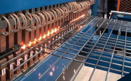 Máquina de malla electrosoldada multipuntos