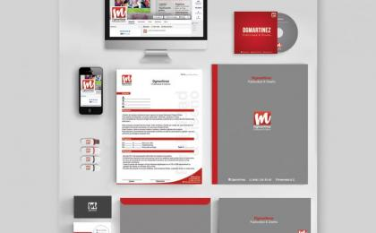 Identidad Visual Dgmartinez