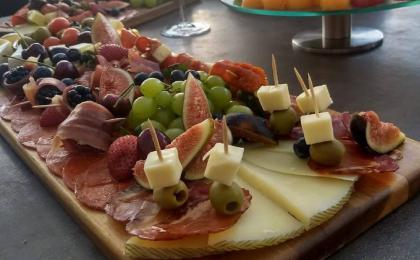 tablas de carnes frias y quesos