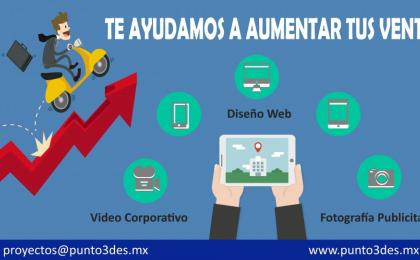 Diseño web, fotografía y video corporativo
