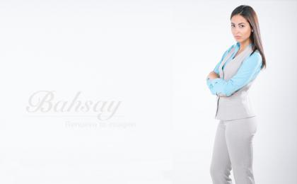 uniformes secretariales con chaleco