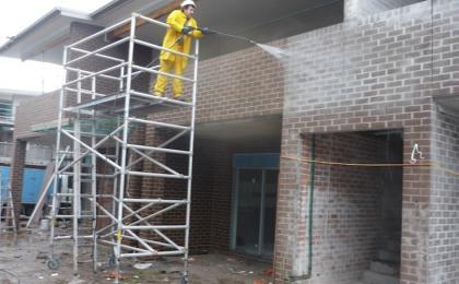 Limpieza de construcciones en Monterrey