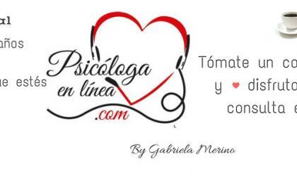 Psicóloga en línea, Gabriela Merino