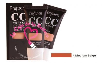 CC cream, profusion, maquillaje en crema, maquillaje