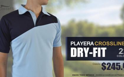 Playera Dry Fit Tipo Polo Personalizada