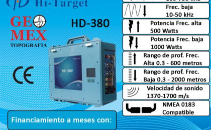 Geomex, venta de equipos Ecosondas topográficos en México