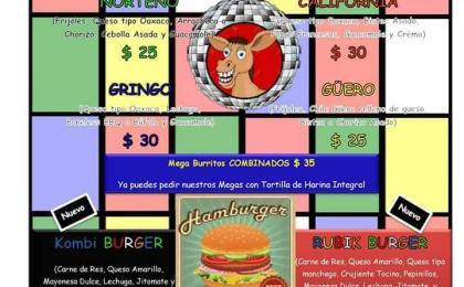 Burritos León, Hamburguesas León