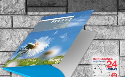 Folder corporativos impreso