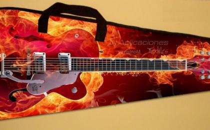 funda guitarra sublimada
