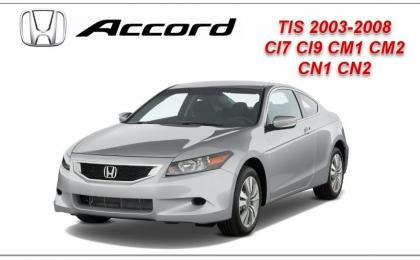 honda accord 2003 2004 2005 2007 2008 manual de reparacion mecanica
