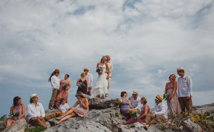 Riviera Maya bridal Party