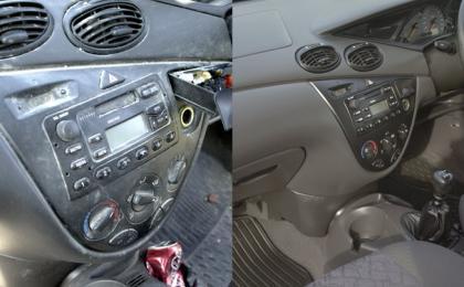 limpieza de interiores de auto