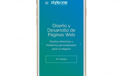 Diseño web Style One, la Paz