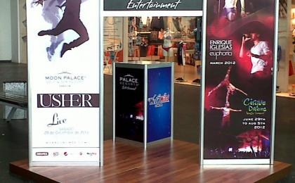 Displays en Cancún