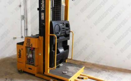 Montacargas Electrico Order Picker Yale 1.5 toneladas 3000 libras