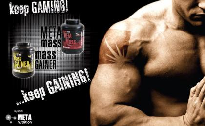 mass gainers de  meta nutrition