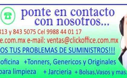promociones en computo y accesorios, papelerias en cancun