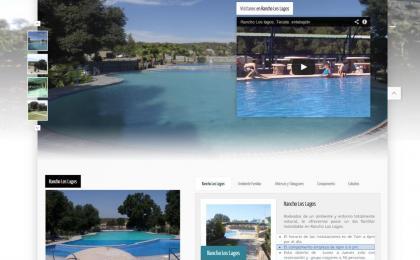 Pagina web para ranco los lagos, paginas web