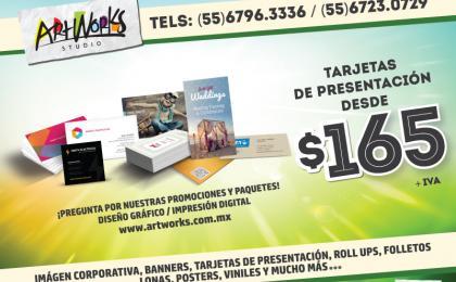 TARJETAS DE PRESENTACION ALVARO OBREGON IMPRENTAS IMPRESOS URGENTES
