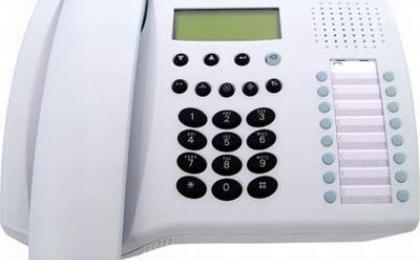 Telefono SIEMENS profiset 3030 en Guadalajara, telefonia analoga en Guadalajara