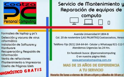 laptop en coatzacoalcos