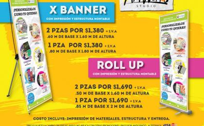 IMPRESION DE BANNERS Y ROLL UP
